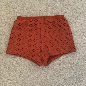 Forever 21 Cloth Patterned Shorts